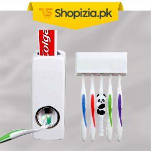 Toothpaste-dispenser-&-brush-holder-Pakistan